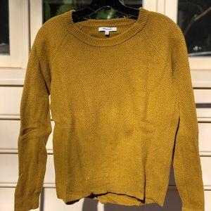 MADEWELL yellow sweater